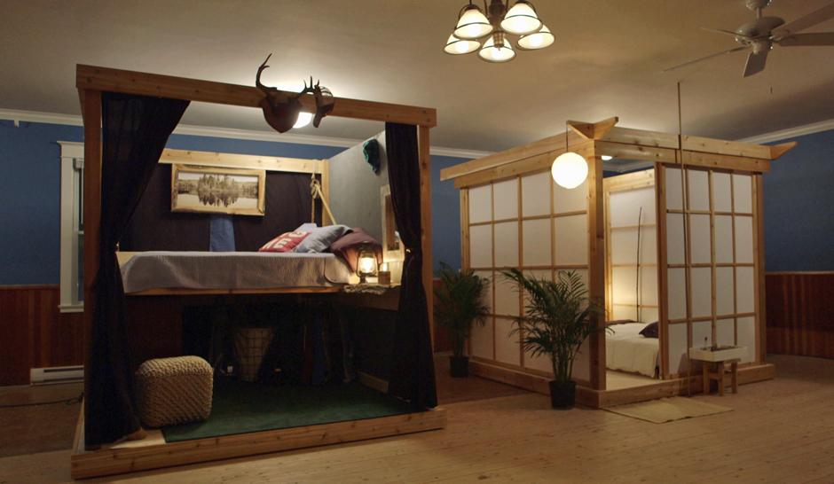 Sleeping place