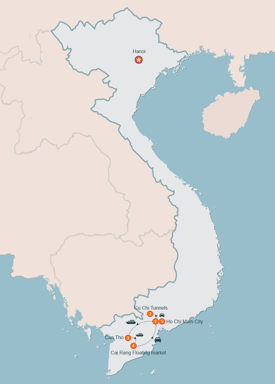 Ho Chi Minh Tours to Mekong Delta Vietnam