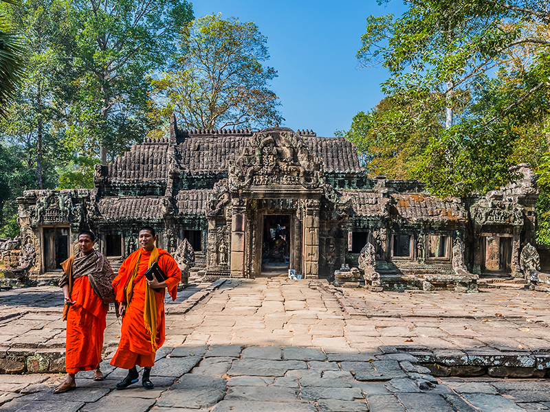 Authentic Cambodia & Culinary Tour 7 Days Packages