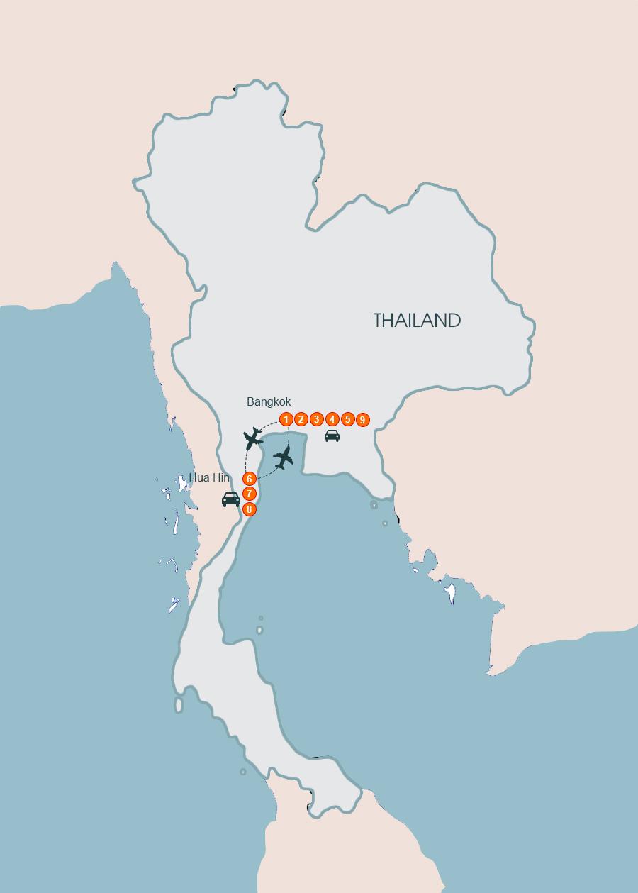 Unseen Thailand 9 Days , Thailand Tour 9 Days