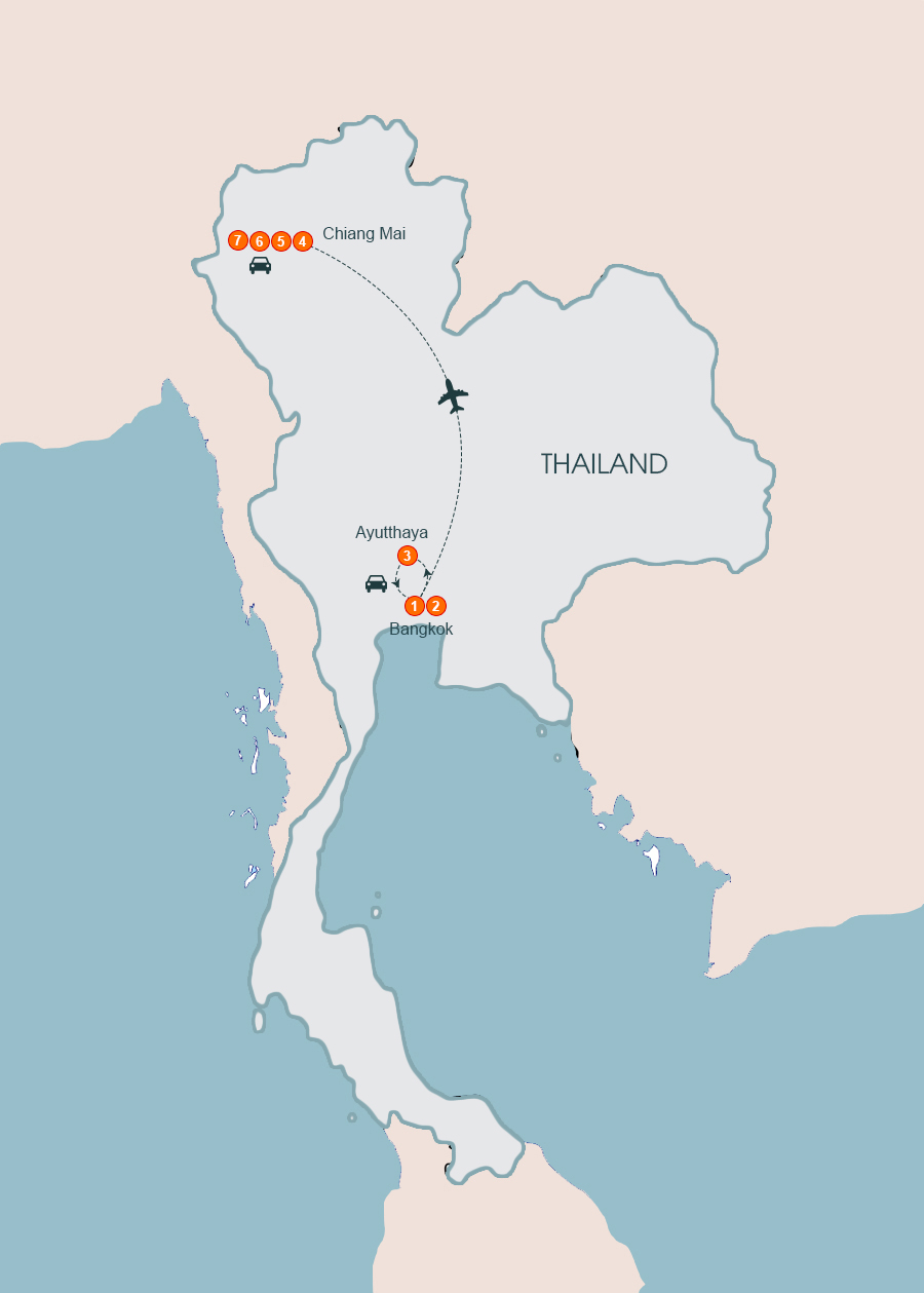 The Best of Thailand Tour 7 Days