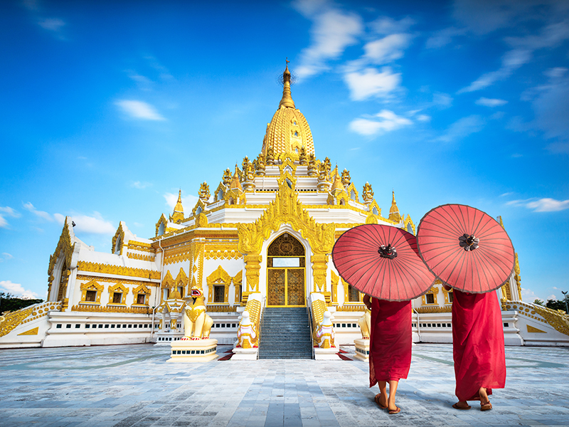 A Glance of Myanmar