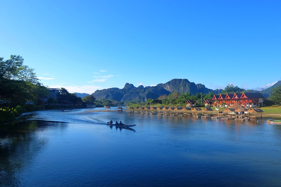 Places to visit in Vang Vieng, The best time to visit Vang Vieng