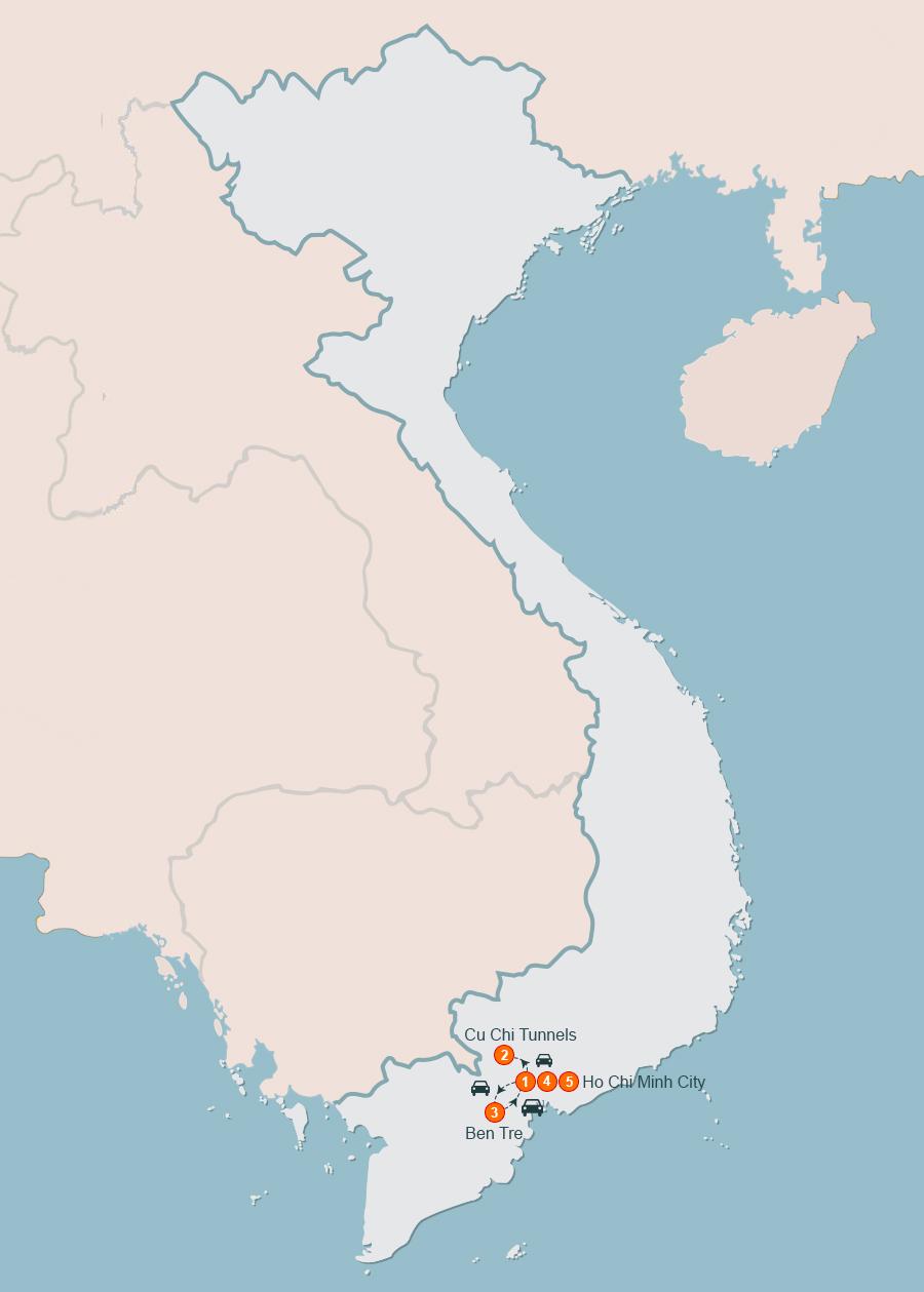 Deep in the Mekong Delta 5 Days l Mekong delta tour Vietnam