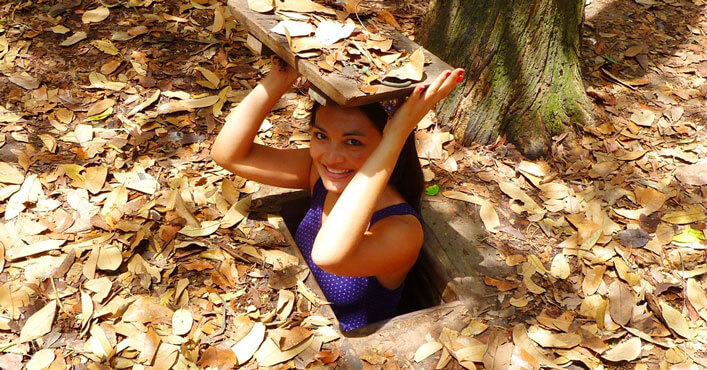 Ho Chi Minh Tours – Cu Chi tunnels