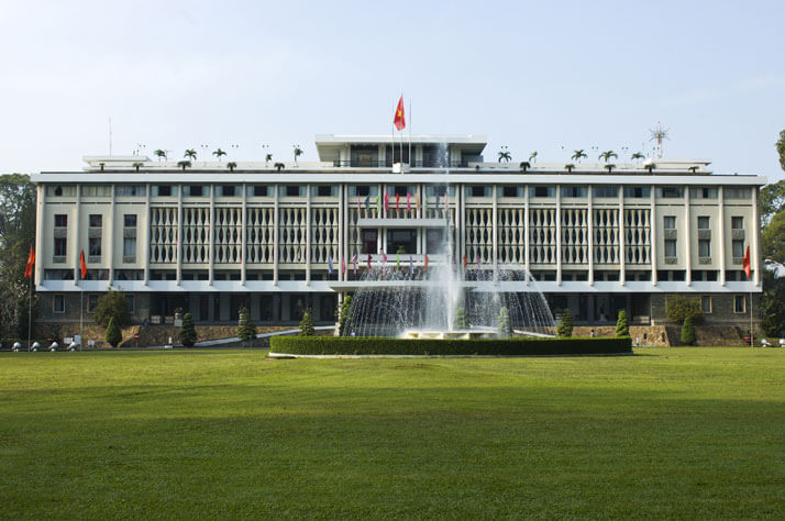 Visit Independence Palace in Ho Chi Minh Tours