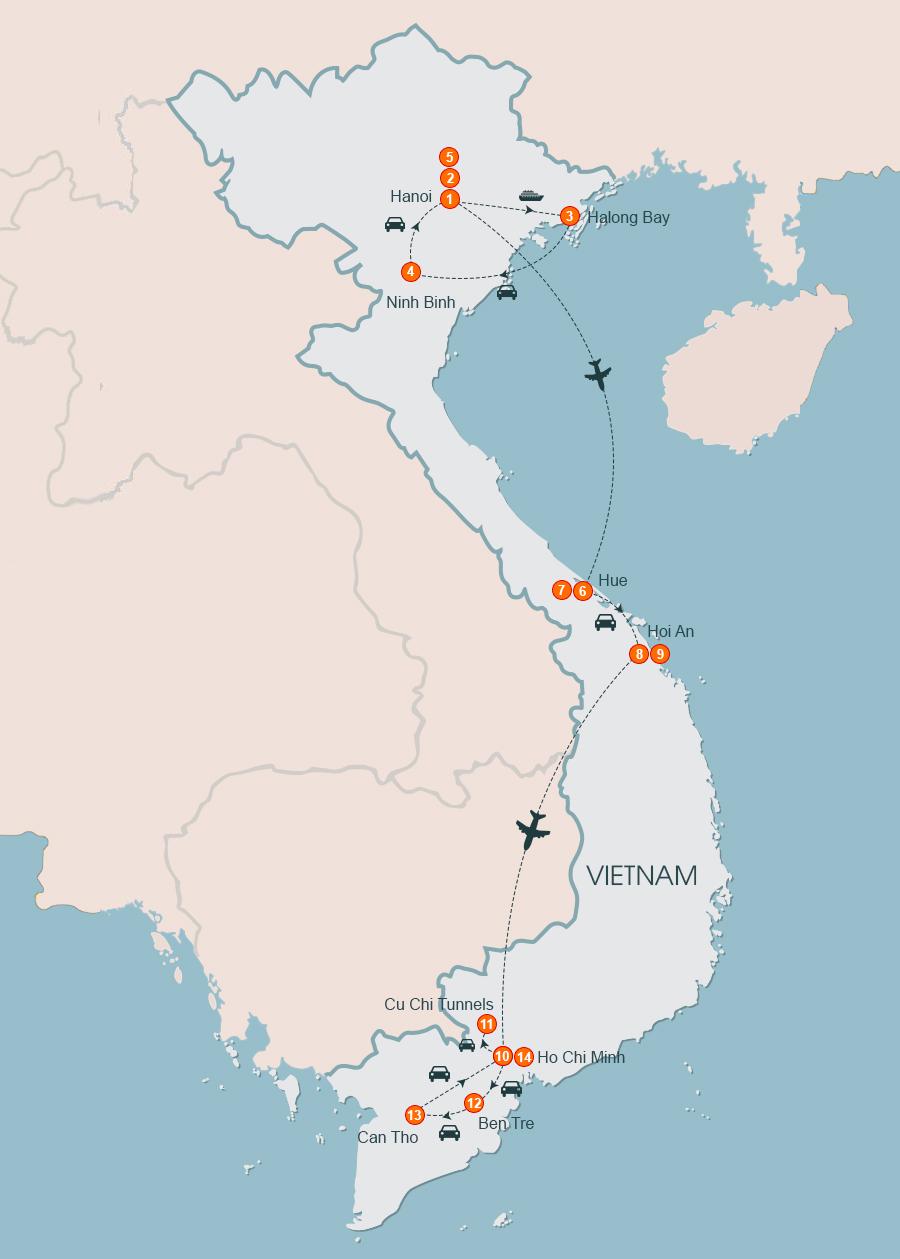 Discover the home of Kong Skull Island Halong Ninh Binh Quang Binh