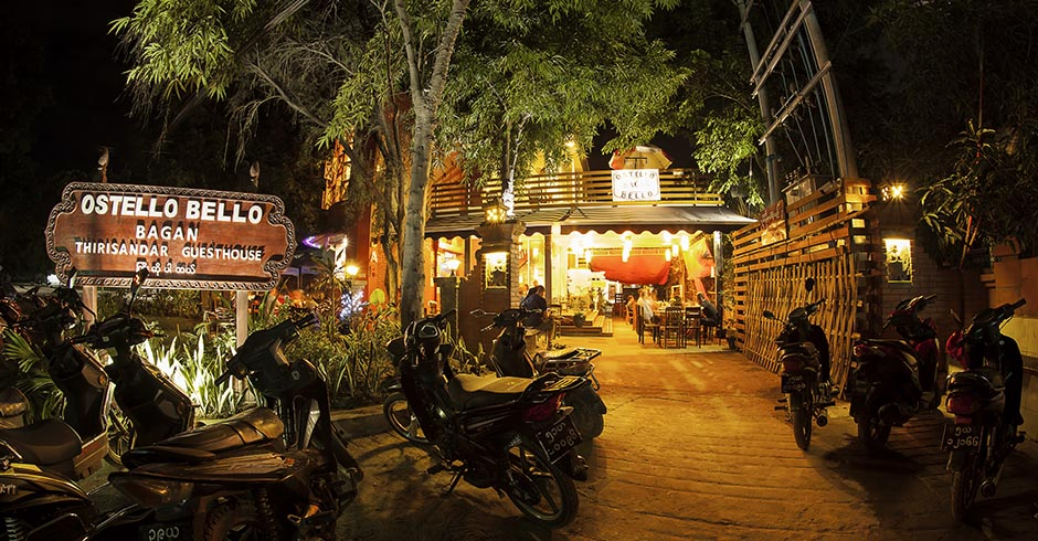 The best hostel in Bagan