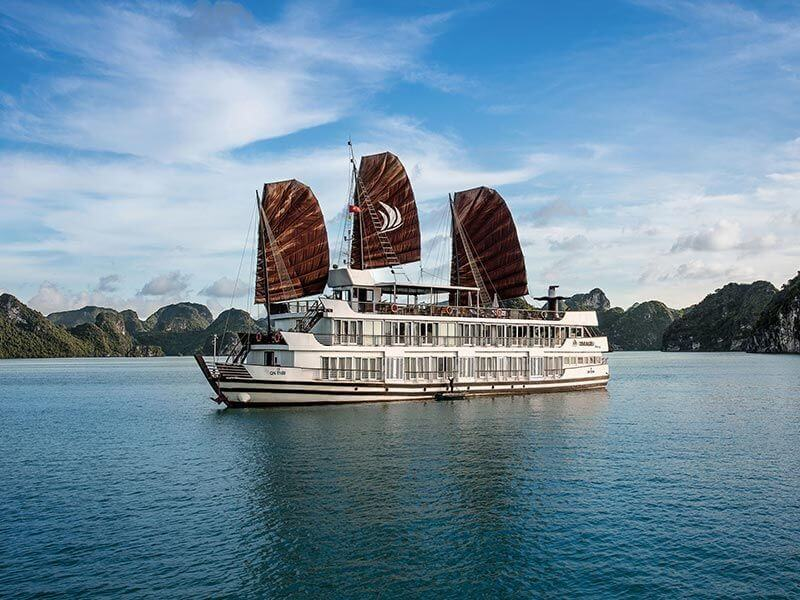 Pelican Cruise Halong 2-3 Days from Hanoi, Free Airport Transfers