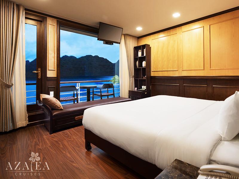 Azalea Cruises Halong Bay, Free Airport Transfer & Visa. Save Up 40% Off