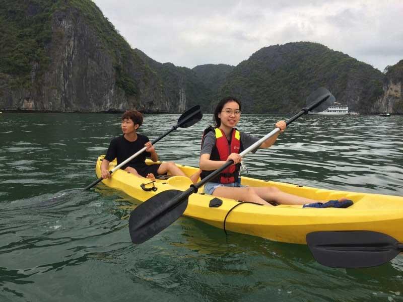 La PaCi Cruise Halong Bay, LaPa Ci Cruise Lan Ha Bay, Free Airport Transfers
