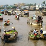 Cai Rang Floating Market - Mekong Delta