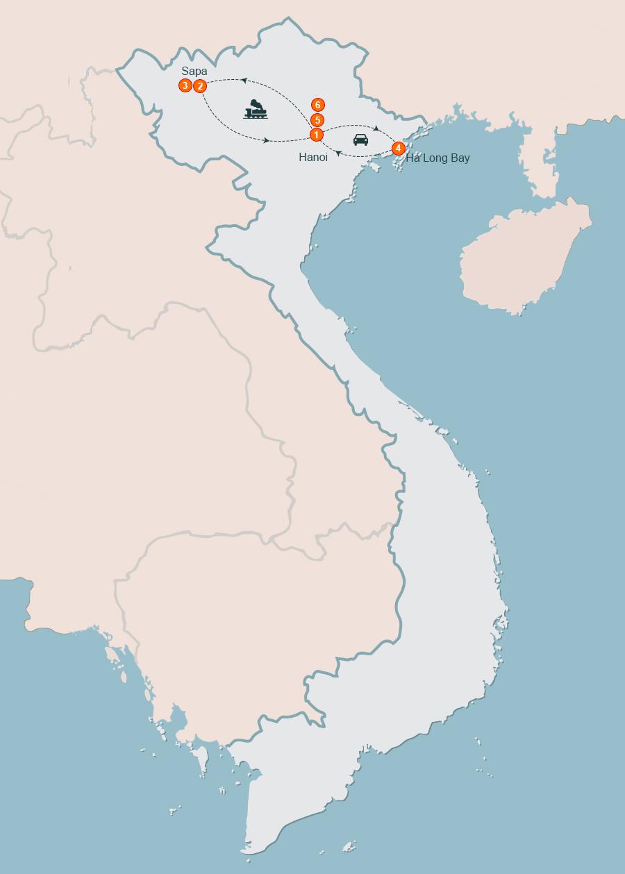 Hanoi Tour 6 Days I 6 Day Tour of Hanoi Sapa Halong, 6 Days in Hanoi Tour