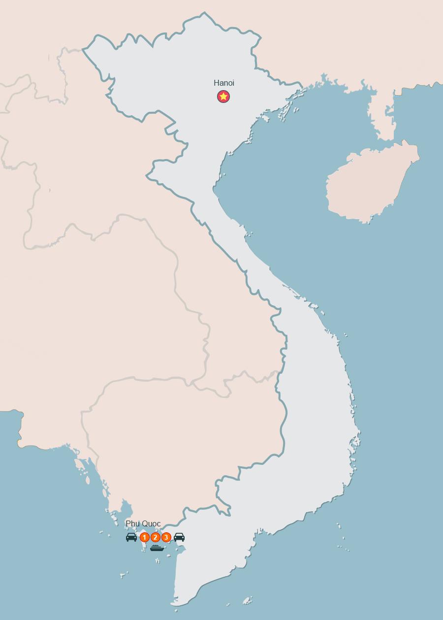 Phu Quoc Tour 3 Days , 3 Days Tour Phu Quoc Island
