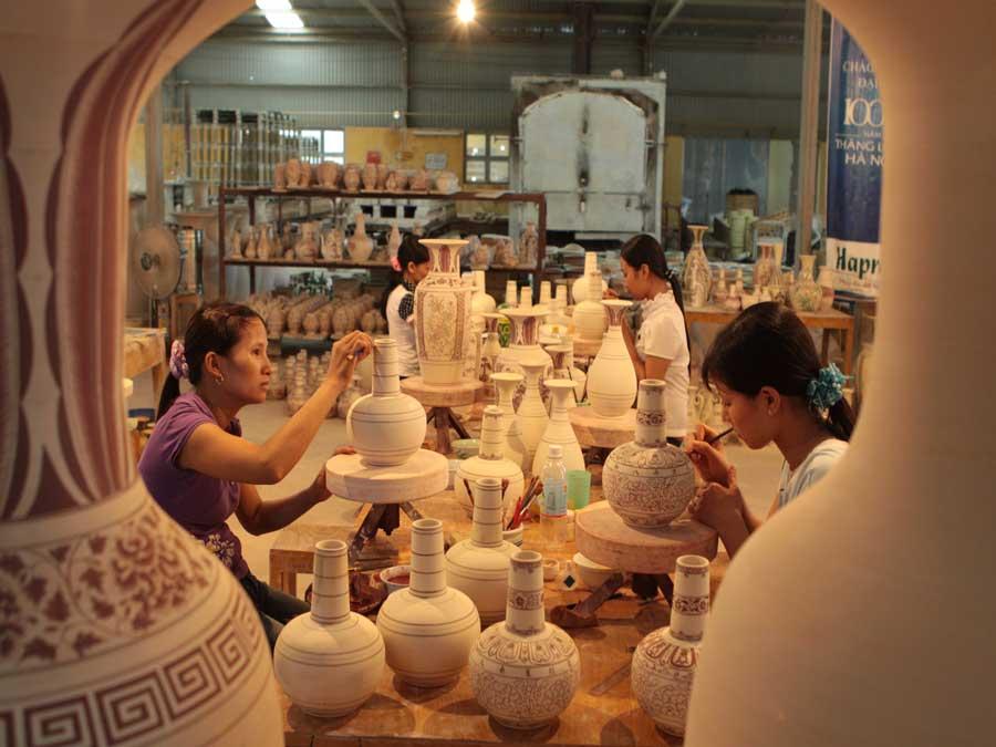 Bat Trang Ceramics Village