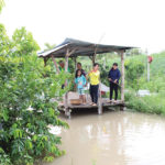 Ecological park in the Mekong Delta