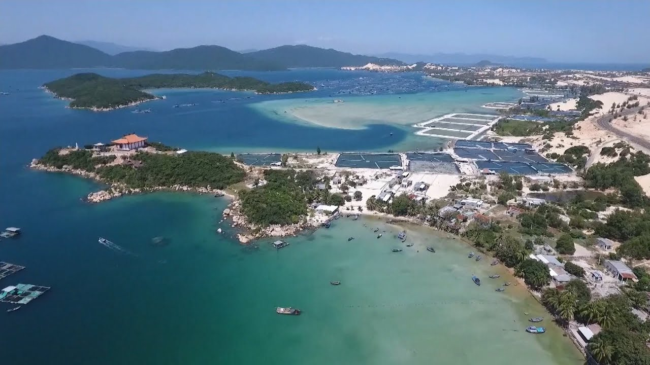 Phu Quoc Island view from above