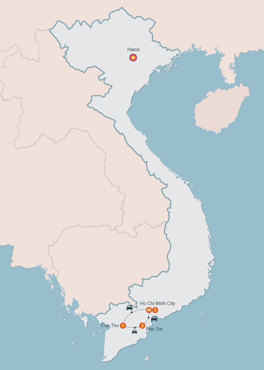 The Best Of Mekong Delta, mekong Delta Tours, Mekong Tour