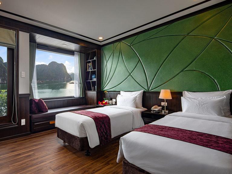 Peony Cruises Halong Bay, Free Hanoi Airport Transfer. Save Up 50% Off.