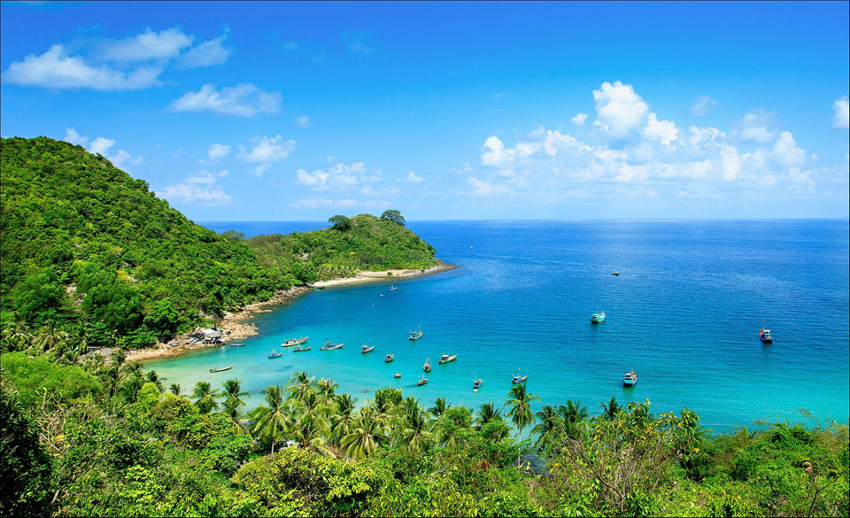 Beautiful pristine Nam Du in photos
