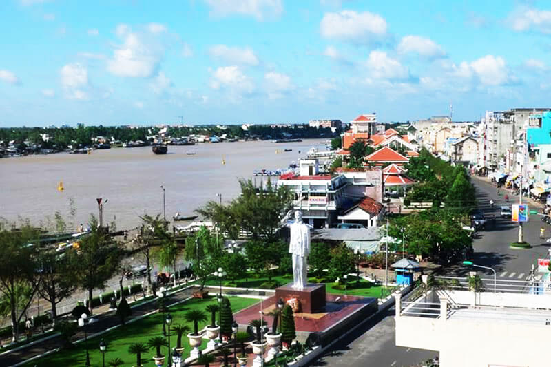 Discover the location of Ninh Kieu Wharf in Can Tho