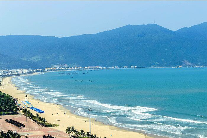 My Khe Beach The charming beauty of the 6 most beautiful-sea wonders