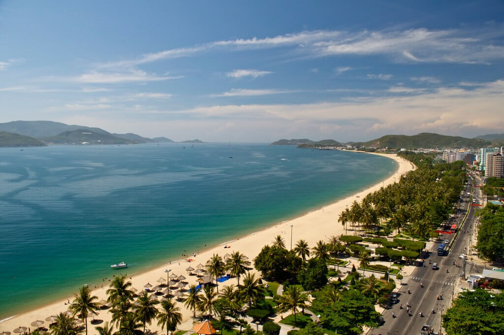 Nha Trang weather in March is very beautiful suitable for making a trip