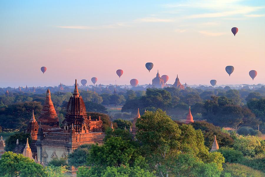 Bagan,Bagan in Myanmar. Travel to Bagan, Bagan travel guide