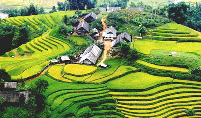 Terraced fields in Sapa enter the top 30 most beautiful destinations in the world